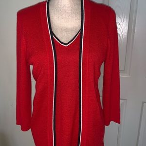In excellent condition cardigan by Sag harbor
